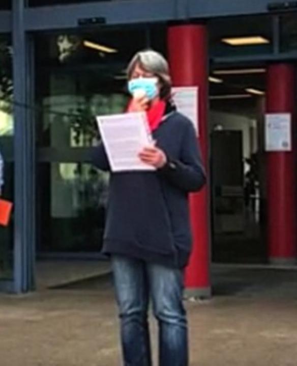 Pressemitteilung zu Äußerungen von OB Thomas Kufen zur Polizei in Essen und zur Diffamierung der Verdi Aktivistin