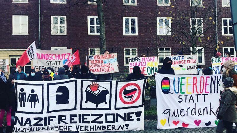 Antirassismustelefon beteiligt sich am Protest gegen Querdenker-Bewegung in Bochum