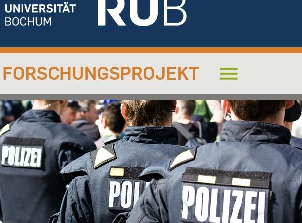 """Forschungsprojekt zu """"Körperverletzung im Amt durch Polizeibeamt*innen veröffentlicht Zwischenbericht"""
