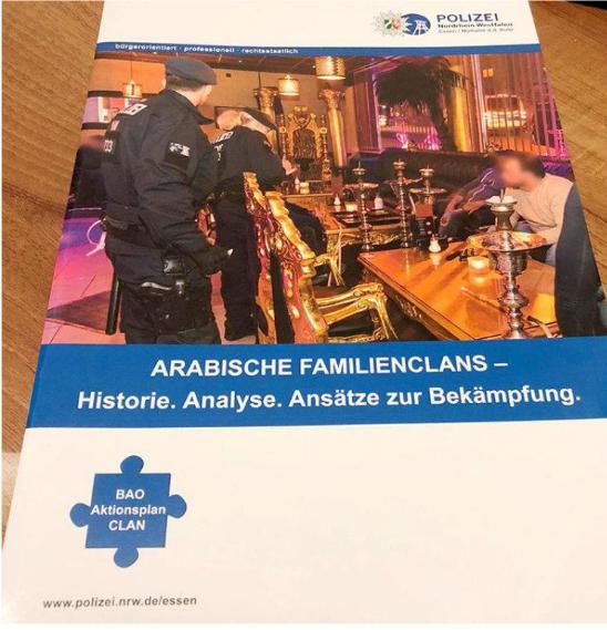 """Essener Broschüre zur """"Clankriminalität"""" voller rassistischer Stereotype"""