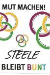 Mut machen – Steele bleibt bunt