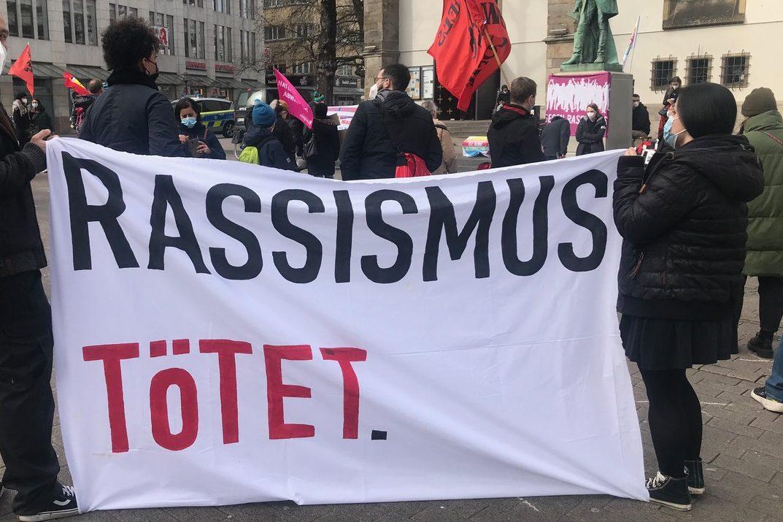 Kundgebung in Essen: Heraus zum internationalen Tag gegen Rassismus