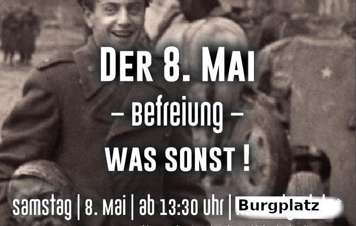 """""""Befreiung – was sonst"""" : Der 8. Mai muss ein gesetzlicher Feiertag werden!"""