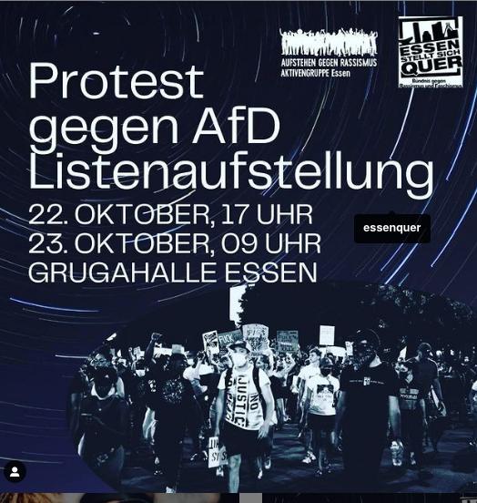 """Antifa Essen, """"Aufstehen gegen Rassismus"""" Essen, ESSEN STELLT SICH QUER"""